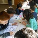 Beth Avodah kids proofreading 2012