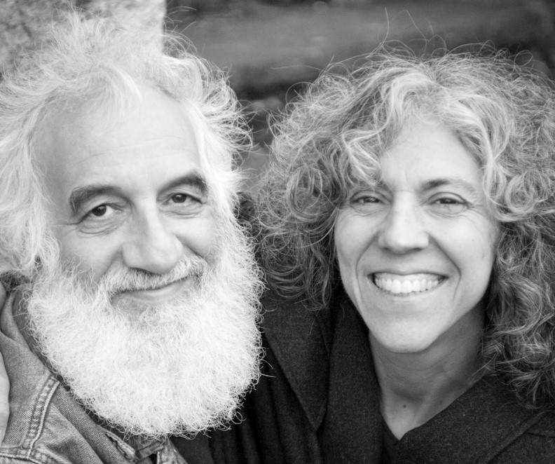 Rabbis Linda Motzkin and Jonathan Rubenstein